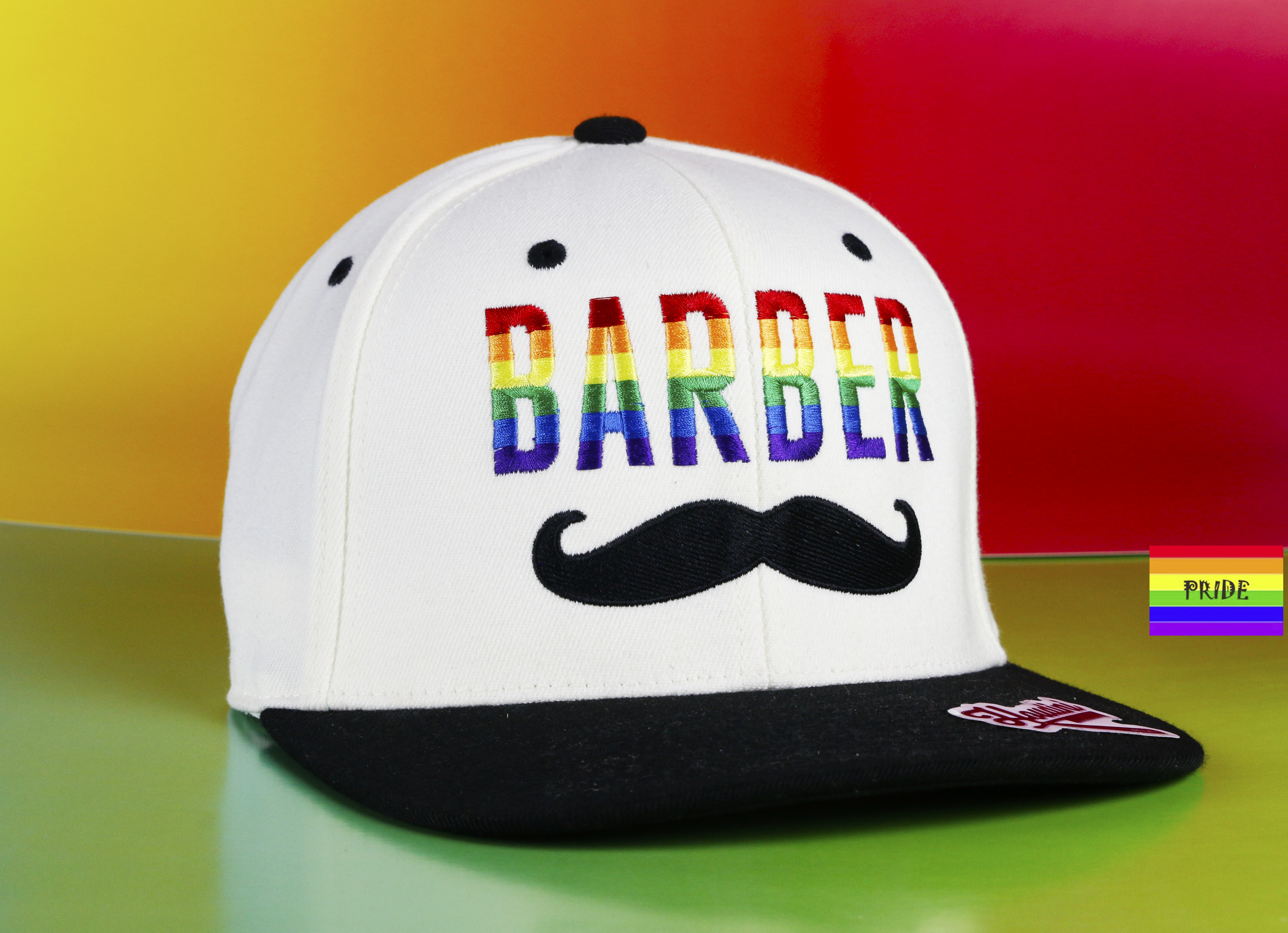 whit pride hat